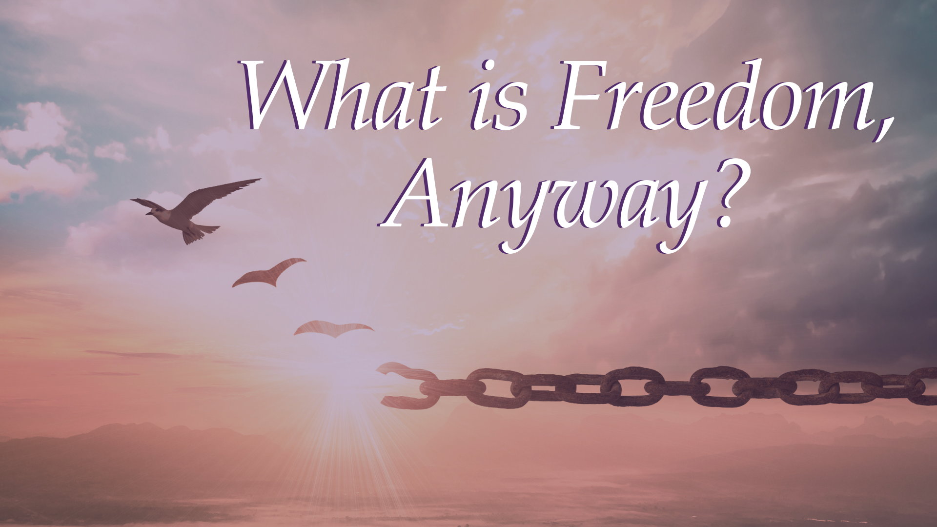 What is Freedom Anyway?
